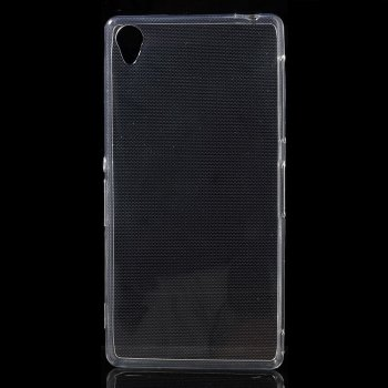 Sony Xperia Z3 D6603 D6643 D6653 D6616 L55t Clear Ultrathin TPU Gel Case Cover, transparent - elastīgs silikona vāks