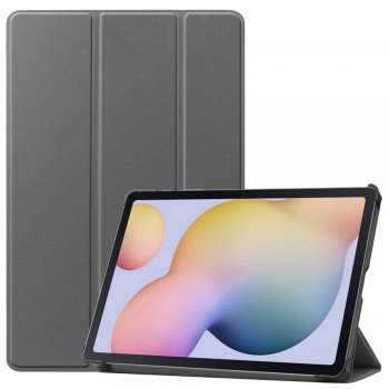 Samsung Galaxy Tab S7 (SM-T870 / T875) Tri-fold Stand Cover Case, Gray