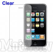 Screen Protector for Apple iPhone 3G 3GS, transparent clear guard - ekrāna aizsargplēve, protektors