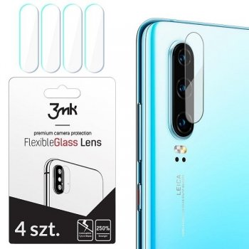 3MK Samsung Galaxy A20e 2019 (SM-A202F) Back Camera Lens Tempered Glass 4x set | Kameras Aizsargstikls