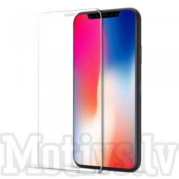 "3D Full Screen Tempered Glass Protector for Apple iPhone X 10 / 11 Pro 5.8"", clear - ekrāna aizsargstikls"