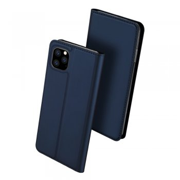 Apple iPhone 11 Pro DUX DUCIS Leather Case - Blue