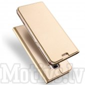 Xiaomi Redmi Note 6 DUX DUCIS Skin Pro Leather Magnetic Book Case Cover Stand, gold – vāks maks