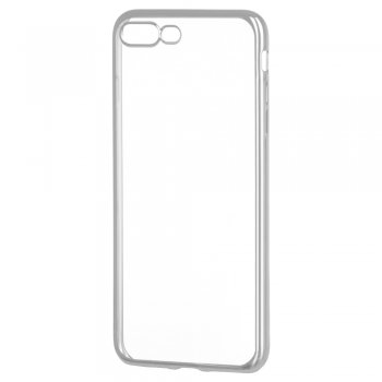 iPhone 8 Plus / 7 Plus Metalic Slim Case, Silver | Telefona Vāciņš Maciņš Apvalks