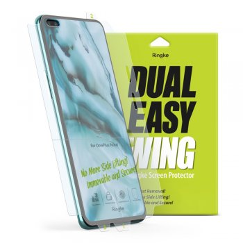 OnePlus Nord Ringke Dual Easy Film 2x Self Dust Removal Screen Protector