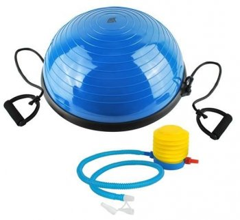 BOSU Balance Trainer Half Ball Dome Platform with Expanders, Blue