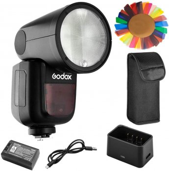 Godox V1-C 2.4G TTL Round Head Flash Speedlight for Canon