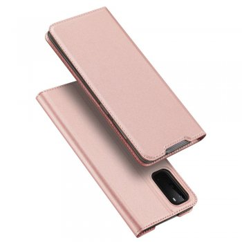Samsung Galaxy S20 DUX DUCIS Leather Case - Rose