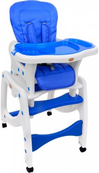Multifunctional High Chair BabyMaxi, 5-in-1 - Blue