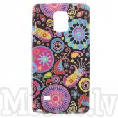 Samsung Galaxy Note 4 SM-N910F Glossy TPU Gel Case Bumper Cover Shell, dark galaxy - aksesuārs vāks bamperis