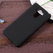 Xiaomi Redmi 4 Prime Frosted TPU Gel Case Bumper Cover, black - vāks bamperis