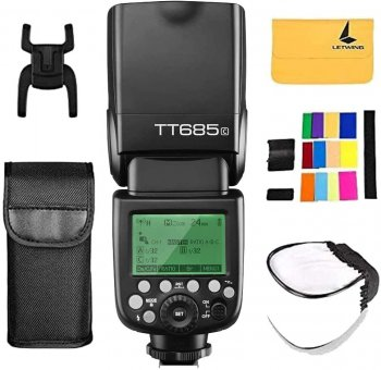 GODOX TT685C Thinklite TTL Camera Flash 2.4GHz High Speed 1/8000s GN60 Compatible for Canon EOS