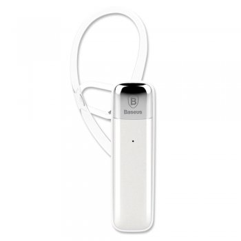 Baseus EB-01 Brīvroku ierīce, white | Wireless Bluetooth Handsfree Headset , white