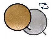 Lastolite Collapsible Reflector 50 cm silver / gold
