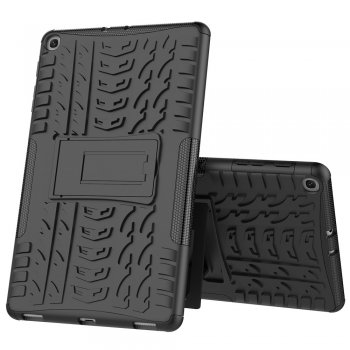 Samsung Galaxy Tab A 10.1 (2019) SM-T510/SM-T515Tire Pattern Case, Black