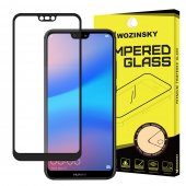 5D Tempered Glass Screen Protector For Huawei P20 lite 2018 (ANE-LX1, ANE-LX2J), black | Ekrāna Aizsargstikls