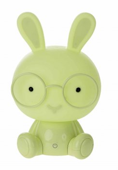 "Decorative Night Lamp ""Rabbit"", Green"