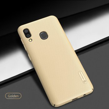 Samsung Galaxy A30 (SM-A305F/DS) NILLKIN Super Frosted PC Case Cover - Gold | Чехол Бампер