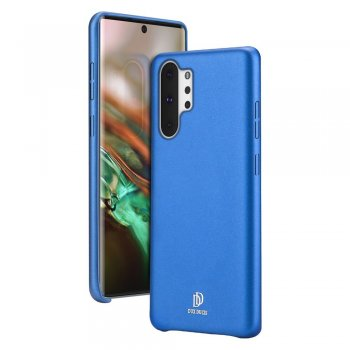 Samsung Galaxy Note 10 Plus (SM-N975F) Skin Lite Leather Case, Blue