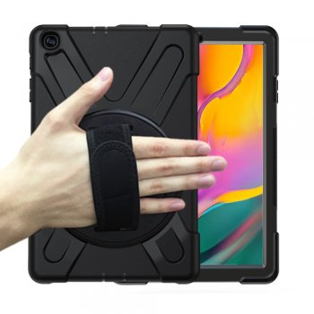 Samsung Galaxy TAB A 10.1 (2019) SM-T510 SM-T515 PC + Silicone Combo Tablet Case Cover