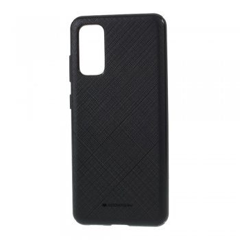 Samsung Galaxy S20 MERCURY GOOSPERY Style Lux Surface TPU Case Cover, Black