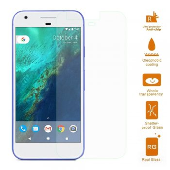 Google Pixel 0.3mm Tempered Glass Screen Protector- ekrāna aizsargstikls, protektors