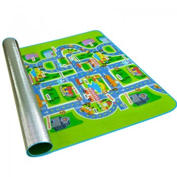 Educational double sided carpet 160x130 cm