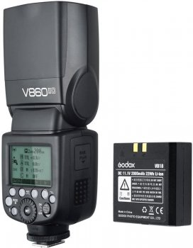 Godox VING V860IIO TTL Li-Ion Flash Kit for Olympus/Panasonic Cameras