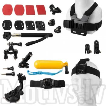 GoPro Sports Action Camera Mount Accessory Set Kit 14 in 1