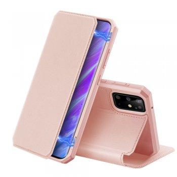 Samsung Galaxy S20+ Plus DUX DUCIS Skin X Series PU Leather Case Cover - Rose Gold | Чехол Книжка для телефона