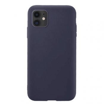 Apple Iphone 11 6.1'' Soft Flexible Silicone Cover Case, Dark Blue| Чехол для телефона