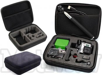 Redleaf GoPro Hero 6 5 4 Camera Carrying Case Bag (L Size)