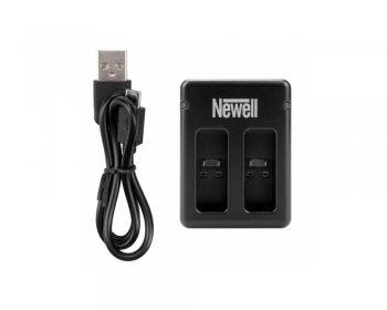 Newell Dual USB Battery Charger for GOPRO Hero 5 6 7 8 AABAT-001