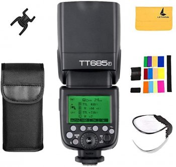 Godox TT685F Camera Flash with HSS TTL GN60 Speedlite Compatible for Fujifilm Camera