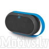 Forever Bluetooth FM AUX USB Speaker BS-410 black-blue, bezvadu skaļrunis