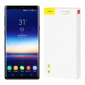3D Curved Baseus Screen Protector 9H black for Samsung Galaxy Note 9 (N960F) - ekrāna aizsargstikls, protektors