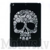 "Apple iPad Air 5 9.7"" tablet hard case cover shell, skull - ciets vāks"