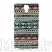 Samsung Galaxy Note 3 Neo N750 N7505 N7502 Winter! Glossy Hard Case Cover Shell, tribal blue - cietais vāciņš