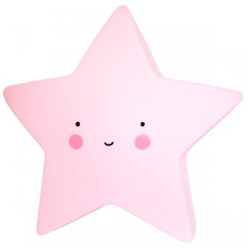 DECORATIVE LAMP STAR PINK