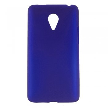 MEIZU MX4 Pro Rubberized Hard Shell Bumper Case Cover, blue - aksesuārs vāks bamperis