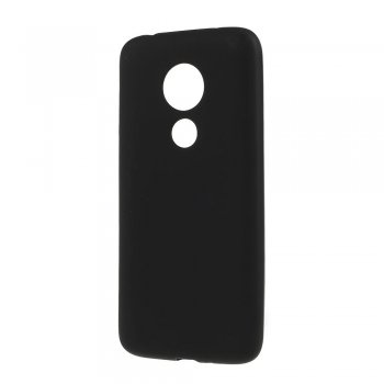 Motorola Moto G7 Power - Matte TPU Case Cover, Black