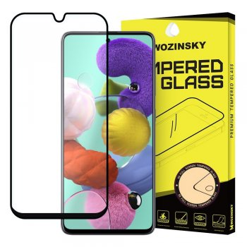5D Samsung Galaxy A51 (SM-A515F) Tempered Glass Screen Protector [Full Glue] - Black