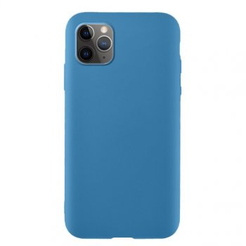 Apple iPhone 11 Pro Soft Flexible Silicone Cover Case, Blue | Telefona maciņš vāciņš