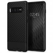 Samsung Galaxy S10+ Plus (G975F) Spigen Core Armor TPU Case, black | Vāks bamperis, Melns