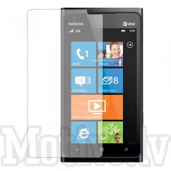 Screen Protector for Nokia Lumia 900 Ace RM-823, transparent clear guard - ekrāna aizsargplēve, protektors