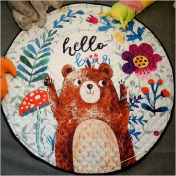 Mat for Children Bear Hello 144cm