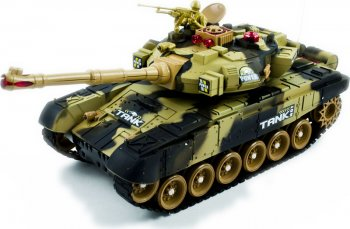 RC Big War Tank 9995 Large 2.4Ghz - Radiovadāms tanks