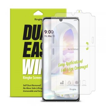 LG Velvet (LM-G910EMW) Ringke Dual Easy Film 2x Self Dust Removal Screen Protector