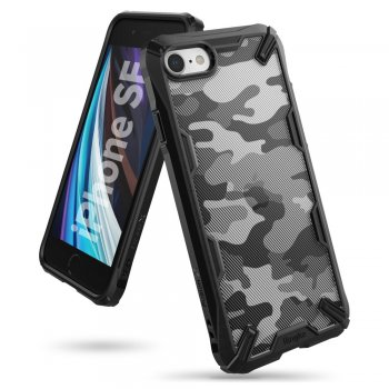 Apple iPhone 8 / 7 / SE (2020) 4'7 Ringke Fusion X Cover Case, Camo