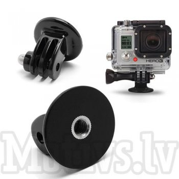"GoPro Hero Black 7 / 6 / 5 / 4 / 3+/ 3 Tripod Mount 1/4"" Adapter"